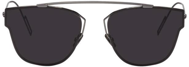 Christian Dior Gunmetal 204 Sunglasses