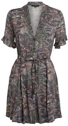 AllSaints Fay Paradeep Mini Dress
