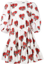 Alexander McQueen floral tiered dress