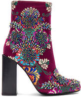 Jeffrey Campbell Beaded Stratford Bootie in Wine. - size 6 (also in )