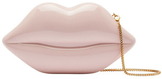 Lulu Guinness Blush Med Lips Clutch
