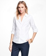 Brooks Brothers Petite Non-Iron Fitted Dress Shirt