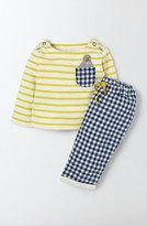 Toddler Boy's Mini Boden Fun Shirt & Pants Set