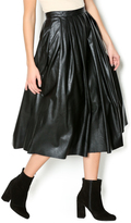 Freeway Faux Leather Skirt