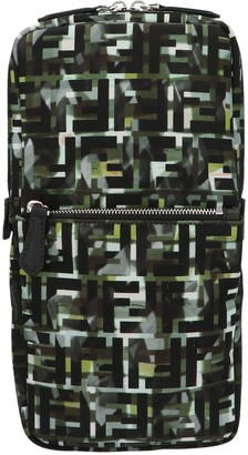 Fendi Monogram Graphic Printed One-Shoulder Backpack
