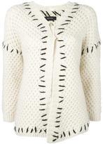 Isabel Marant Gent oversized cardigan - women - Organic Cotton/Acrylic/Polyamide/Wool - 38