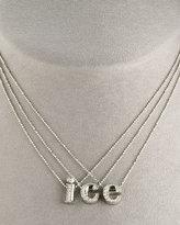 Alex Woo Diamond Letter Necklace