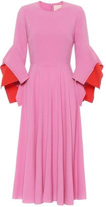Roksanda Ayres crepe midi dress