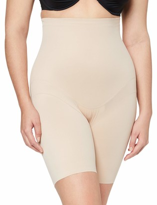 Miraclesuit Women's Panty Gainant Taille Extra Haute Nude-Flexible Fit Thigh Shapewear 2X
