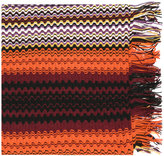 Missoni patterned knit scarf - women - Acrylic/Wool - One Size