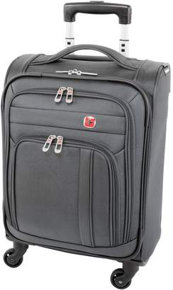 Wenger Swiss Compass 21.5-Inch Softside Carry-On Spinner Suitcase