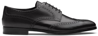 Prada perforated-detail Derby shoes
