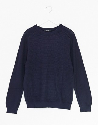 Jack and Jones crew neck knitted sweater