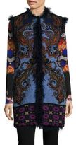 Etro Reversible Lamb Fur Vest