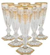 Baccarat Set of 6 Harcourt Empire Champagne Flutes