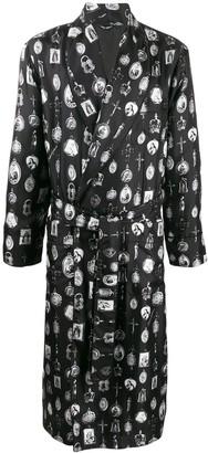 Dolce & Gabbana Pendant Print Robe