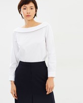 SABA Cleo Boat Neck Top