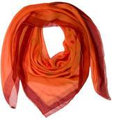 Hermes La Rosee Silk Mousseline Shawl