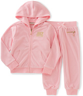 Juicy Couture Pink 'Juicy' Hoodie and Sweatpants - Infant Toddler & Girls