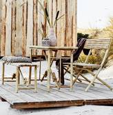 The Forest & Co Bamboo Table And Bench Set