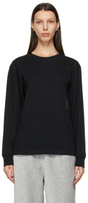 alexanderwang.t Black Foundation Long Sleeve T-Shirt