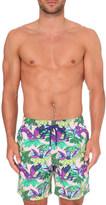 Vilebrequin Moorea forest-print swim shorts