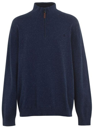Raging Bull Big and Tall Knitted Quarter Zip