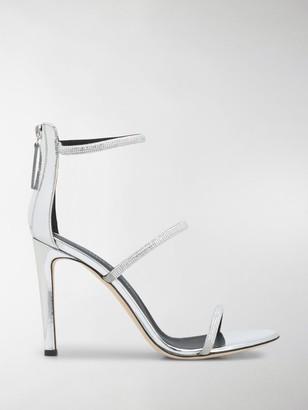 Giuseppe Zanotti Harmony Strass 105mm sandals