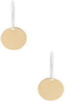 Gurhan Silver & Gold Flake Earrings