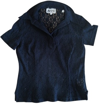 Dolce & Gabbana Blue Lace Top for Women