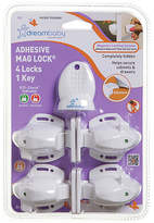 Dream Baby Dreambaby Adhesive Magnetic Lock - 4 Locks & 1 Key