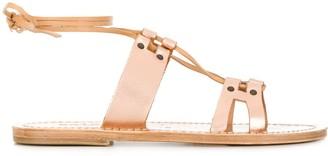 Solange lace-up sandals