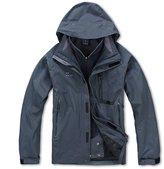 X-Mountain Spirit XMS Men's 3in1 Windproof Outdoor Waterproof Breathable Jacket Coat Windbreaker