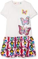 Desigual Toddler Girls' Vest_Providence Dress, White