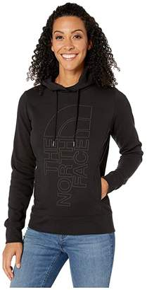 The North Face Holiday Trivert Pullover Hoodie (TNF Black/TNF Black) Women's Clothing