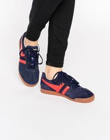 Gola Classic Harrier Sneakers In Red & Navy