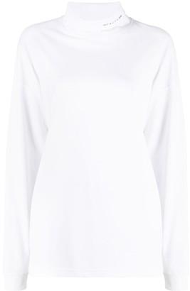 Alyx Logo-Print Roll Neck Sweatshirt