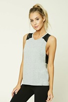 Forever 21 Active Twist Back Tank Top