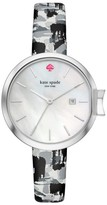 Kate Spade Women's Park Row Leather Strap Watch, 34Mm