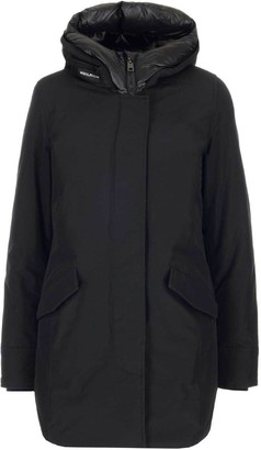 Woolrich Hooded Zip-Up Coat