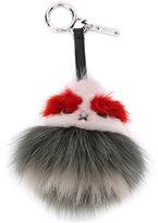 Fendi Bag Bugs keyring - women - Fox Fur/Leather/Mink Fur - One Size