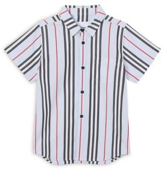 Burberry Kids Icon Stripe Shirt (3-14 years)
