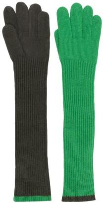 Aspesi Guanti knitted gloves