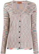 Missoni V-neck striped cardigan