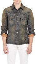 Ralph Lauren Black Label Men's Distressed Western-Style Jacket