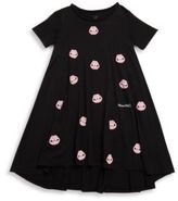 Lauren Moshi Toddler's, Little Girl's & Girl's Lips Hi-Lo Dress