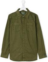 Vingino chest pockets shirt - kids - Cotton - 14 yrs