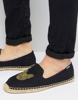 Soludos Boxer Embroidered Espadrilles
