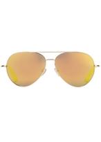 Matthew Williamson Gold Aviator Sunglasses