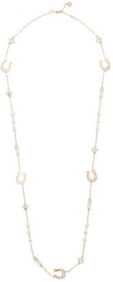 Miu Miu Horseshoe Charms Necklace